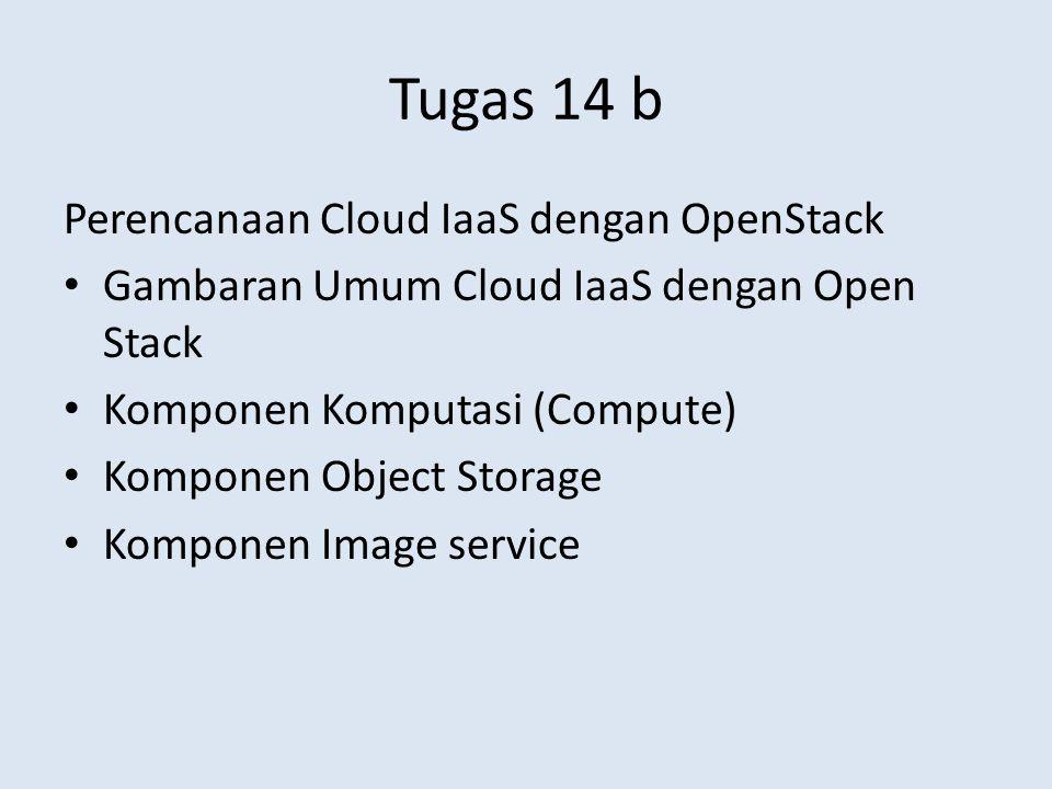 Tugas 14 b Perencanaan Cloud IaaS dengan OpenStack