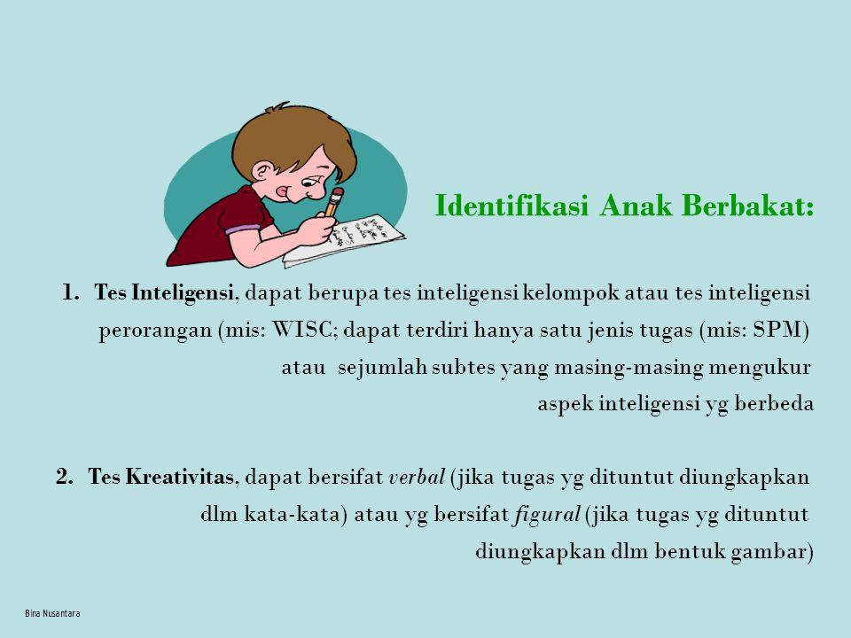 Identifikasi Anak Berbakat: