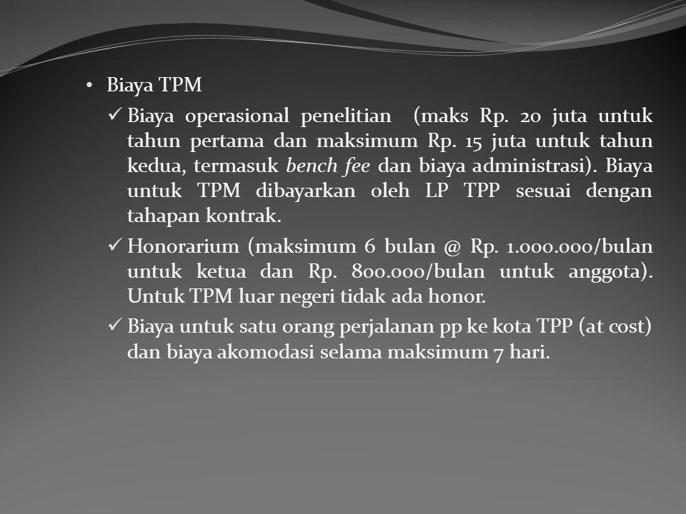 Biaya TPM