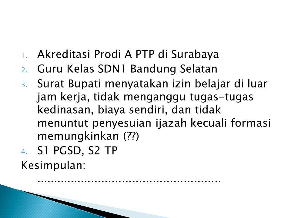 Akreditasi Prodi A PTP di Surabaya