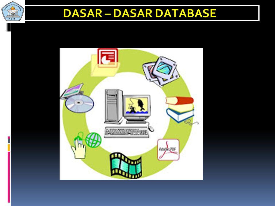 DASAR – DASAR DATABASE E-mail/Fb: syamsualang@yahoo.com Blogspot: syamsu234