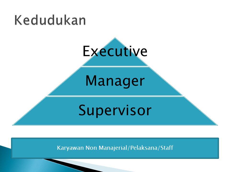 Karyawan Non Manajerial/Pelaksana/Staff
