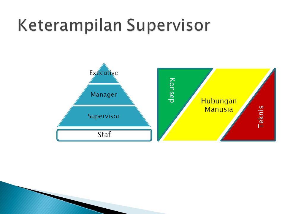 Keterampilan Supervisor