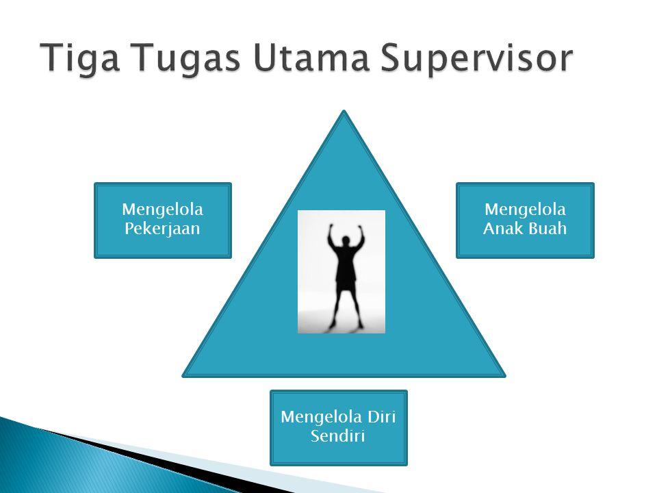 Tiga Tugas Utama Supervisor