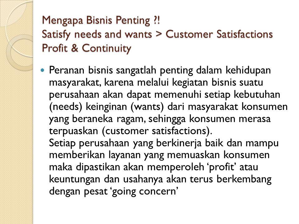 Mengapa Bisnis Penting