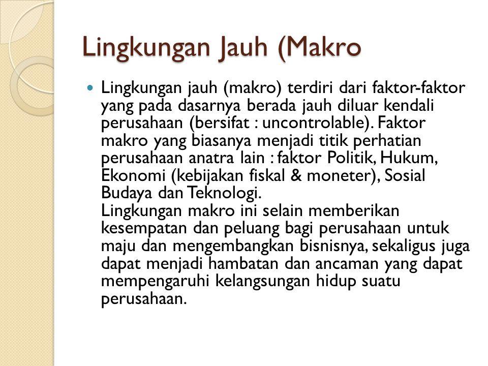 Lingkungan Jauh (Makro