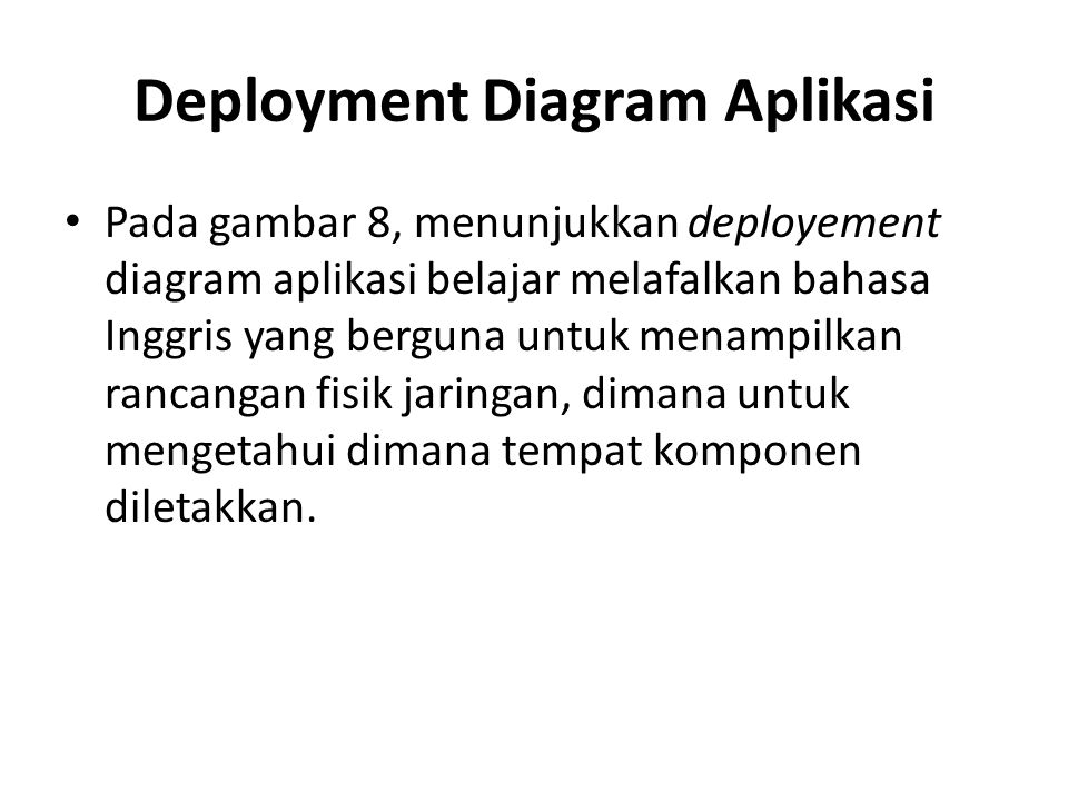 Deployment Diagram Aplikasi