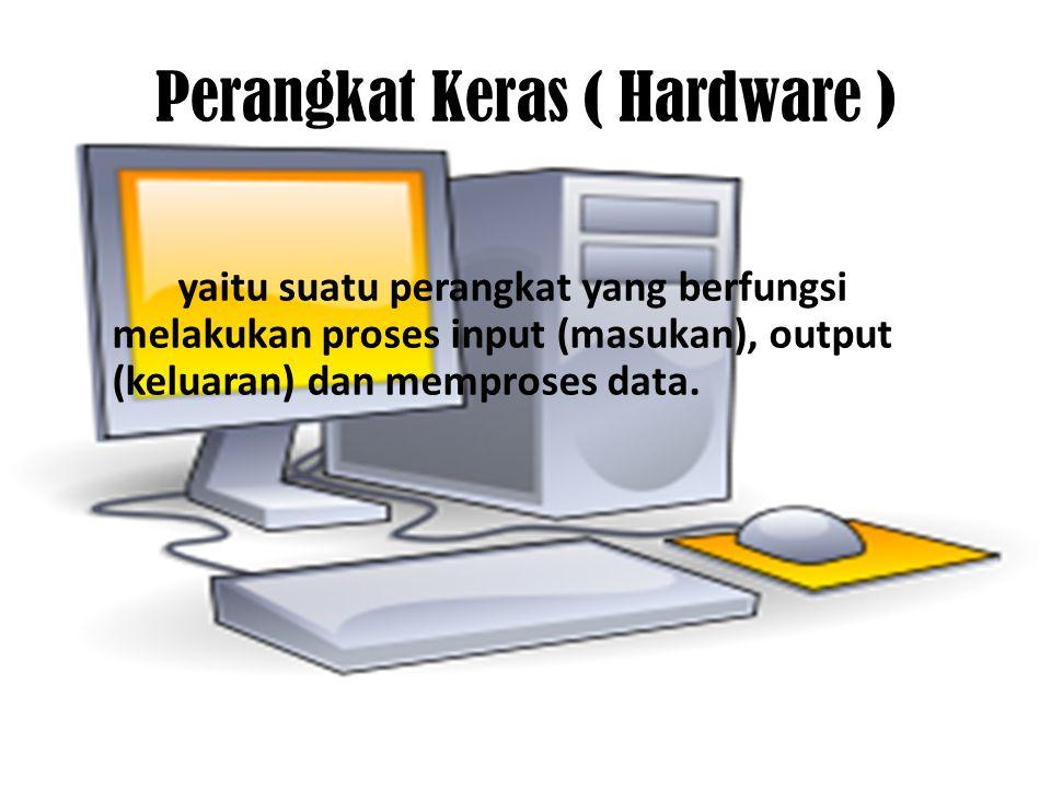 Perangkat Keras ( Hardware )