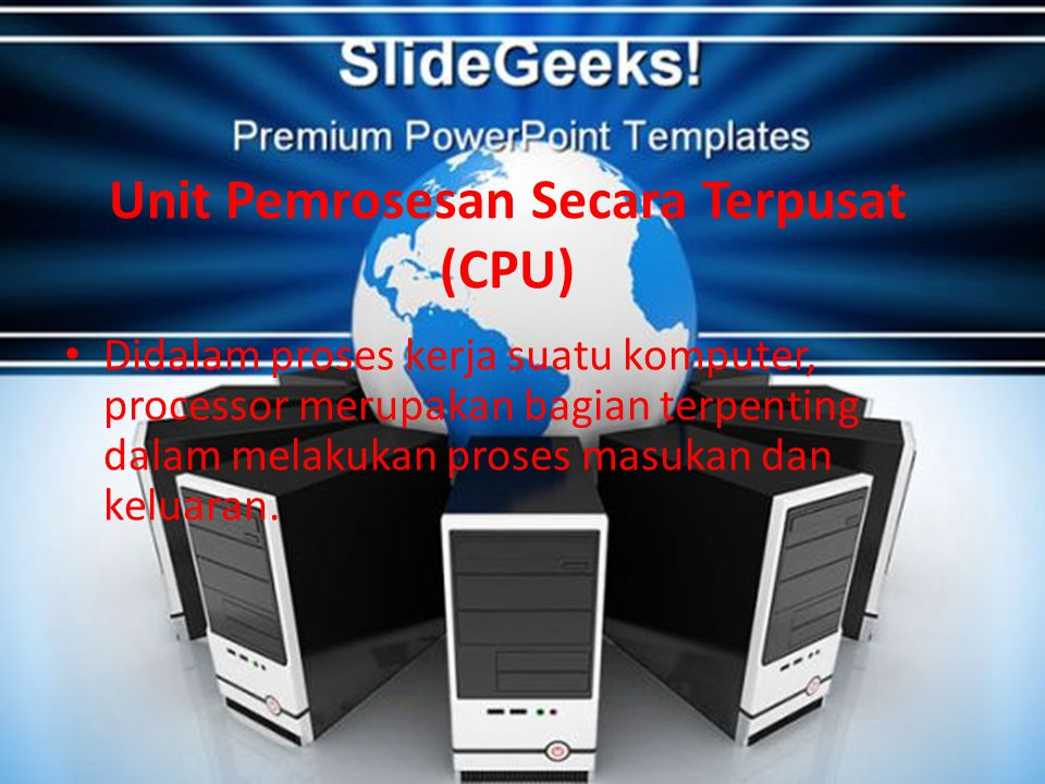 Unit Pemrosesan Secara Terpusat (CPU)