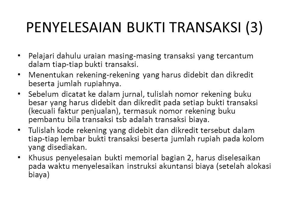 PENYELESAIAN BUKTI TRANSAKSI (3)