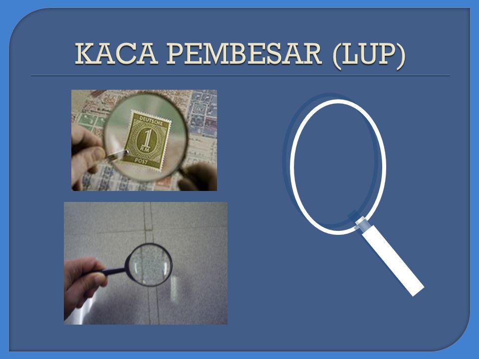 KACA PEMBESAR (LUP)