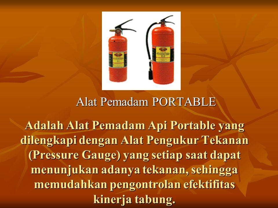 Alat Pemadam PORTABLE
