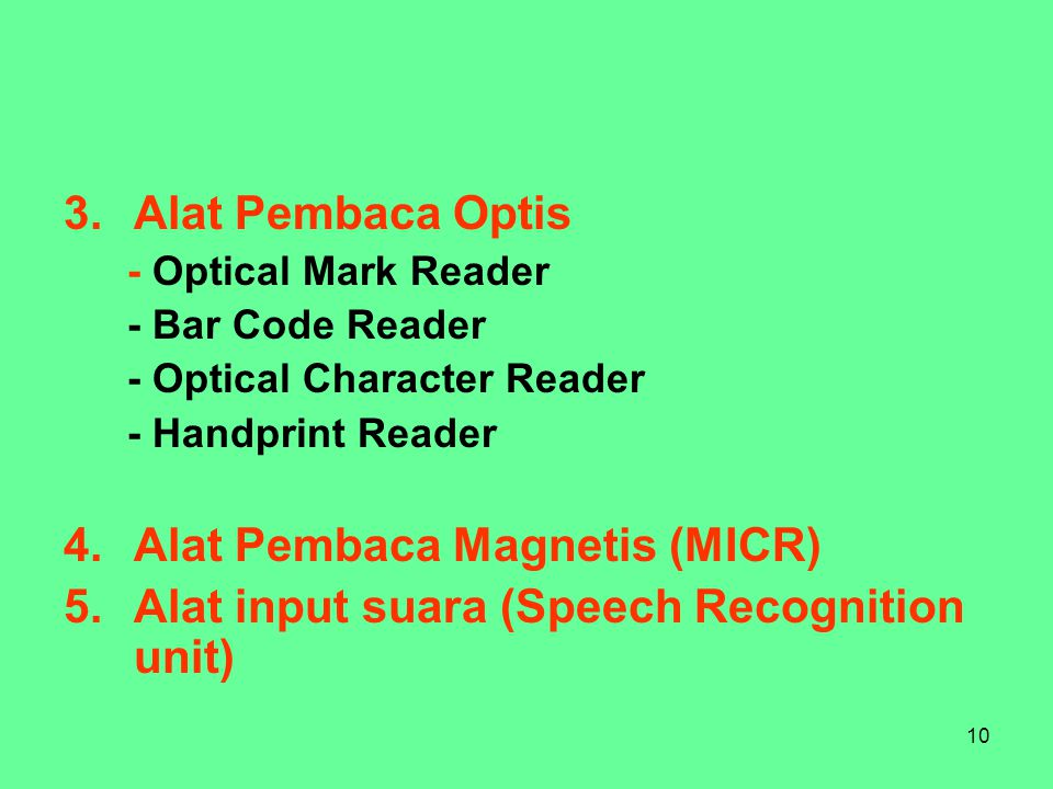 Alat Pembaca Magnetis (MICR)