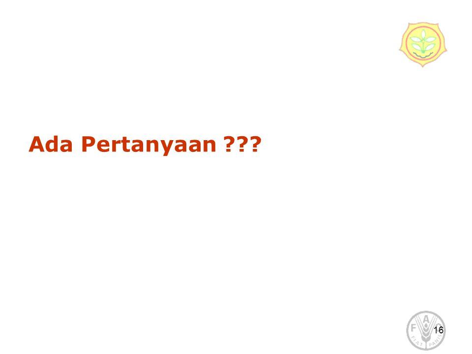 Ada Pertanyaan 16