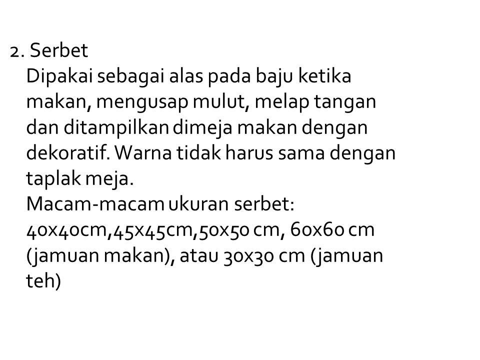2. Serbet