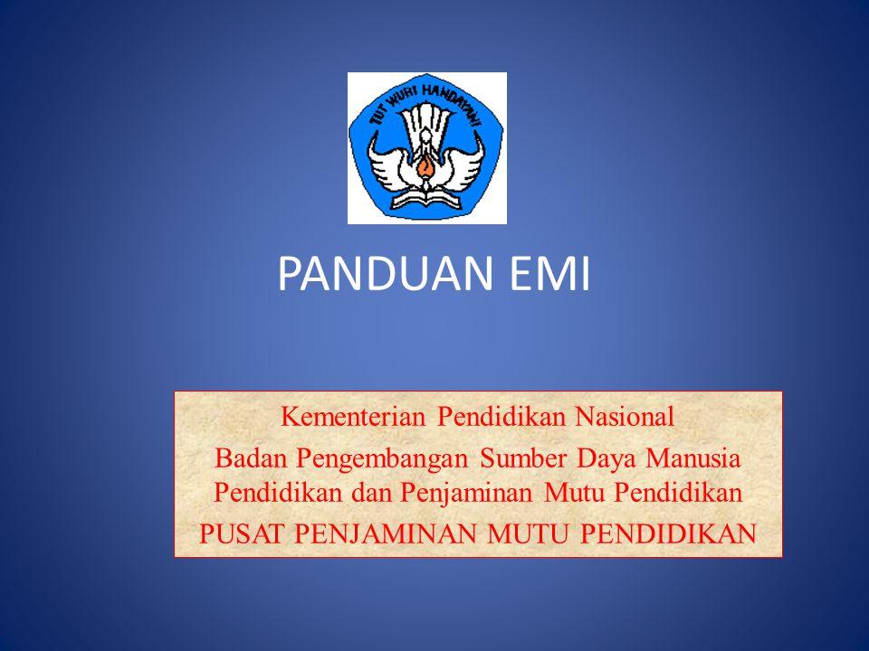 PANDUAN EMI Kementerian Pendidikan Nasional