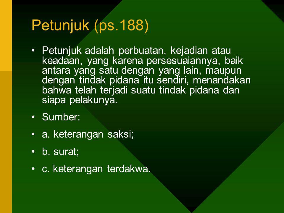Petunjuk (ps.188)