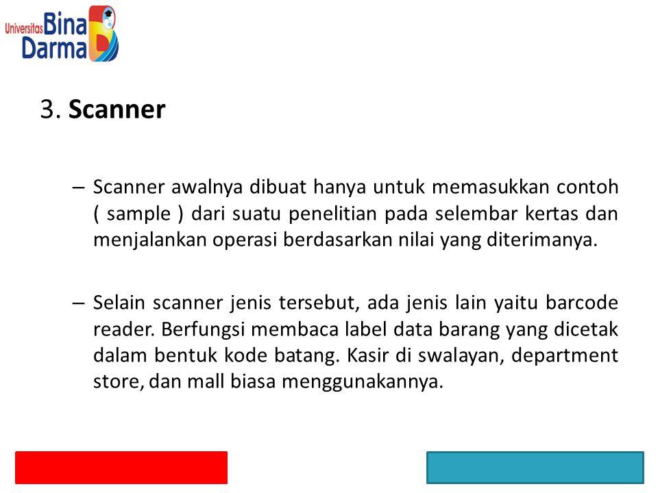 3. Scanner