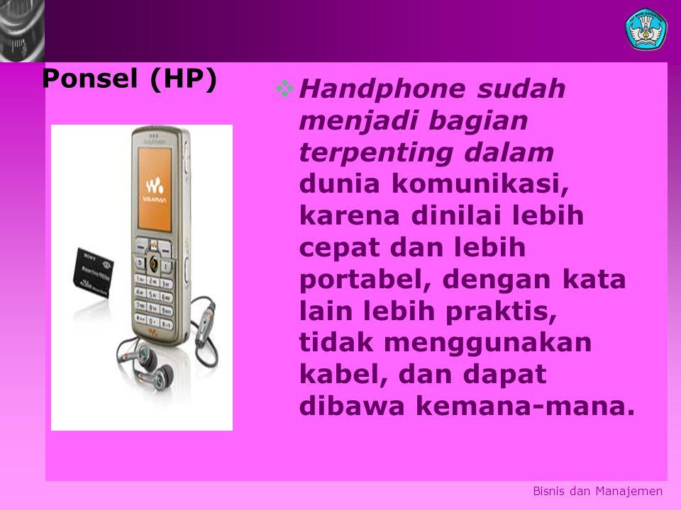 Ponsel (HP)