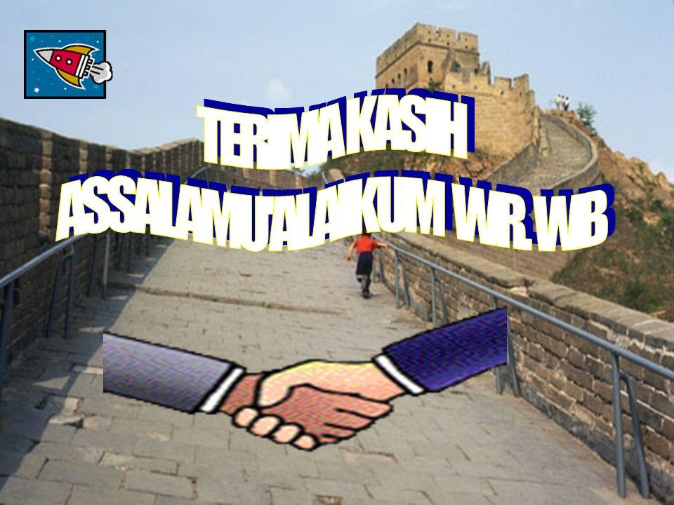 TERIMA KASIH ASSALAMU ALAIKUM WR. WB