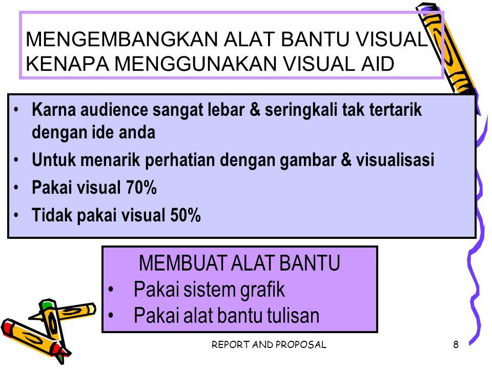 MENGEMBANGKAN ALAT BANTU VISUAL KENAPA MENGGUNAKAN VISUAL AID