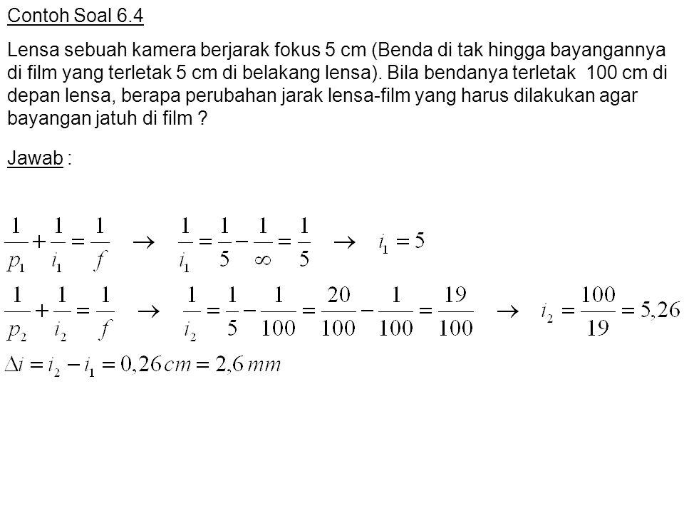 Contoh Soal 6.4