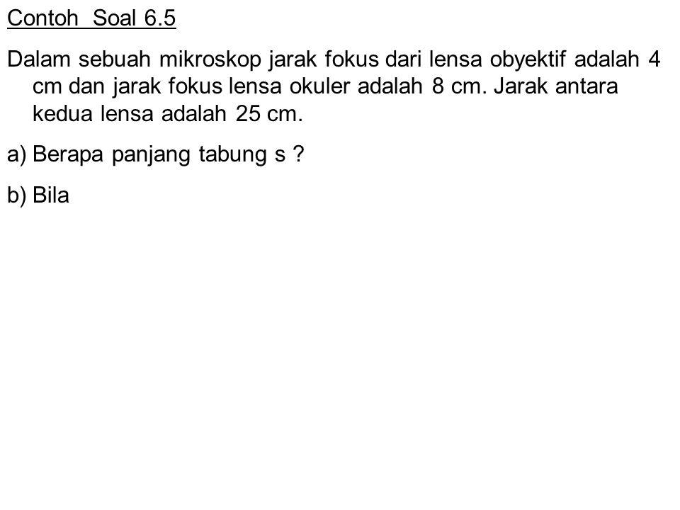 Contoh Soal 6.5