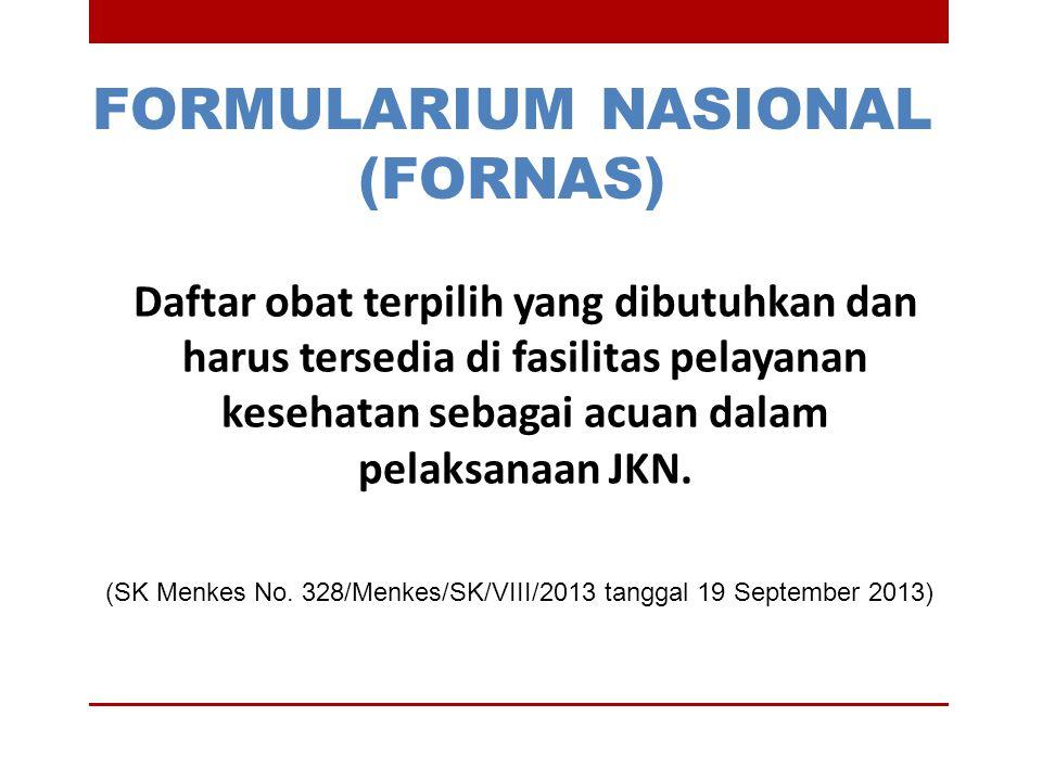FORMULARIUM NASIONAL (FORNAS)