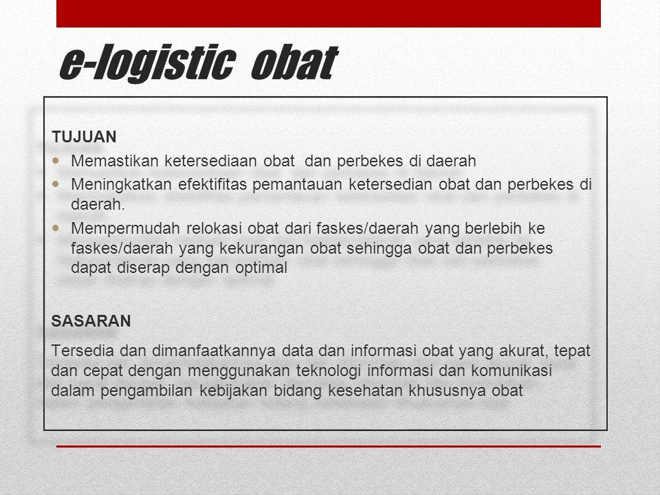 e-logistic obat TUJUAN