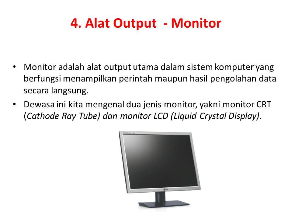 4. Alat Output - Monitor