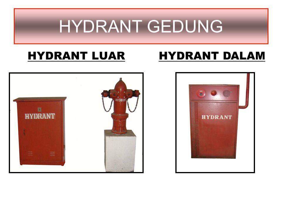 HYDRANT GEDUNG HYDRANT LUAR HYDRANT DALAM