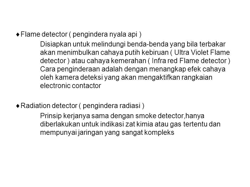 Flame detector ( pengindera nyala api )
