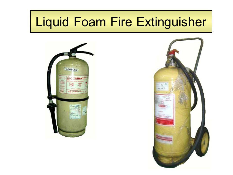 Liquid Foam Fire Extinguisher