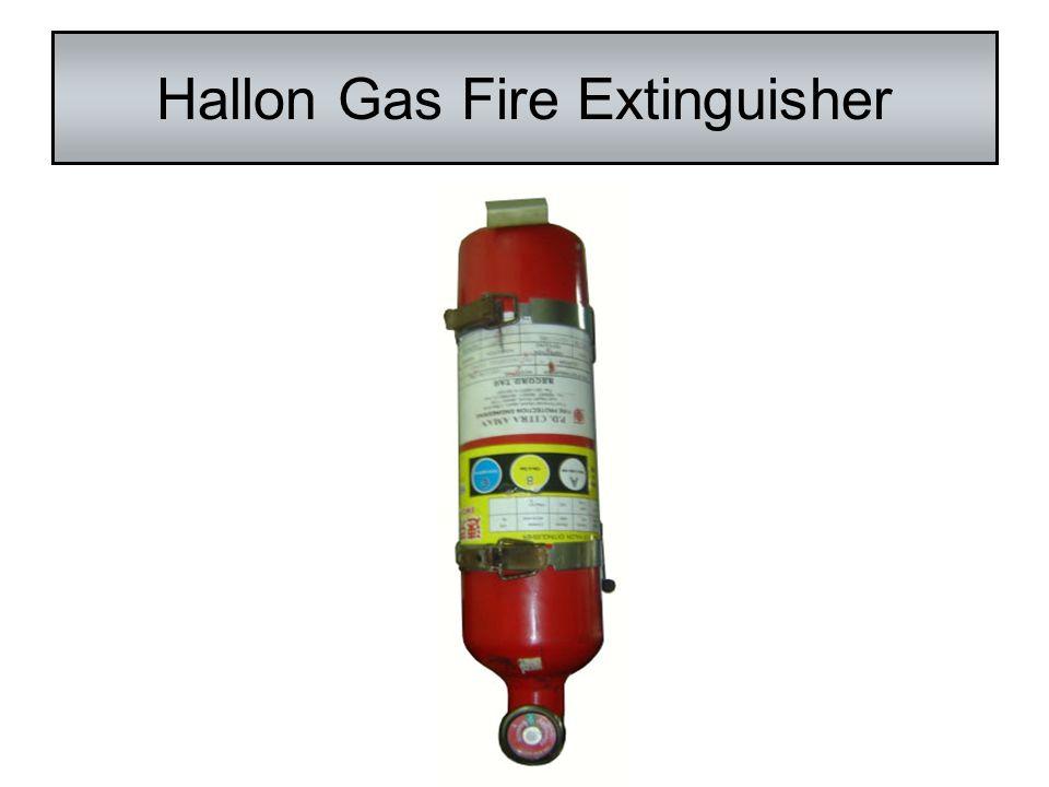 Hallon Gas Fire Extinguisher