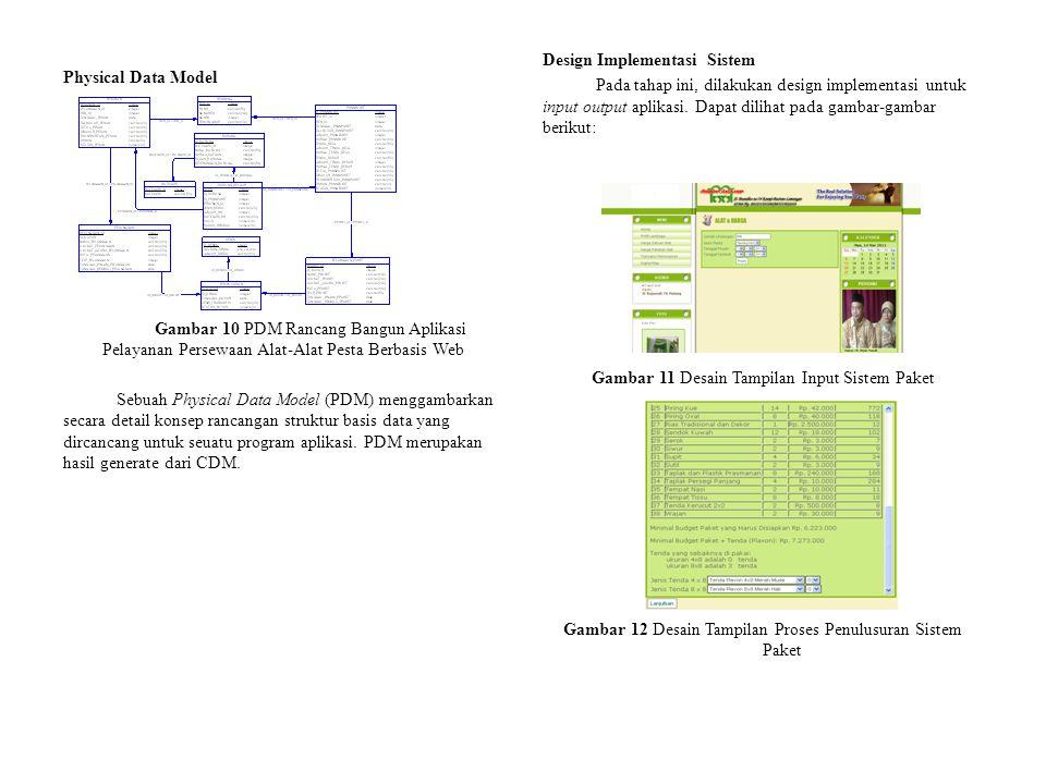 Design Implementasi Sistem Pada tahap ini, dilakukan design implementasi untuk input output aplikasi. Dapat dilihat pada gambar-gambar berikut: Gambar 11 Desain Tampilan Input Sistem Paket Gambar 12 Desain Tampilan Proses Penulusuran Sistem Paket