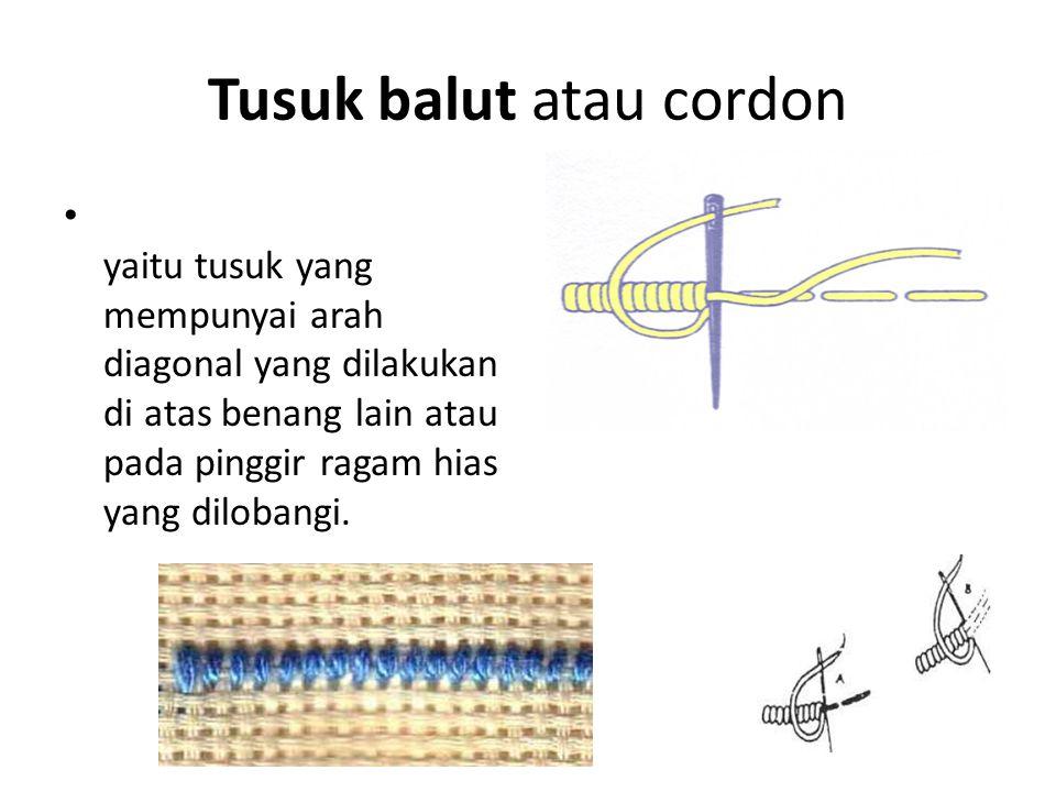 Tusuk balut atau cordon
