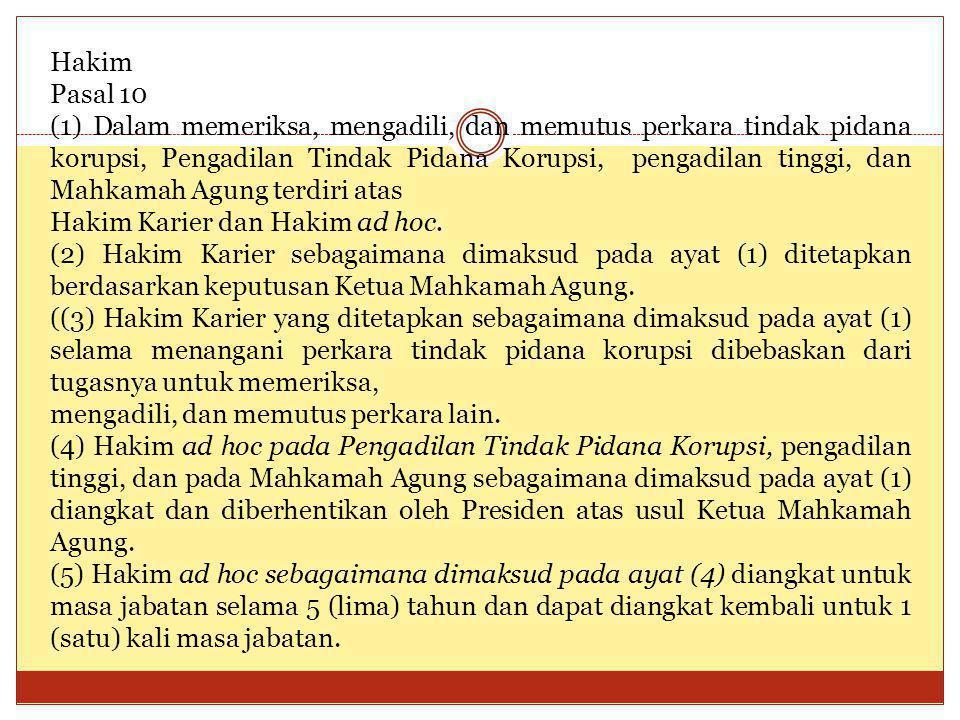 Hakim Pasal 10.