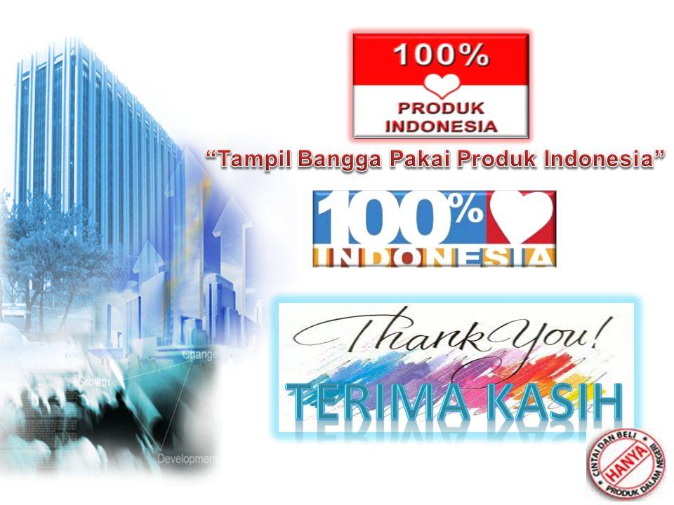 Tampil Bangga Pakai Produk Indonesia