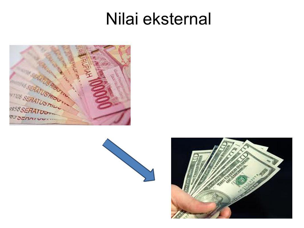 Jenis uang Bahan : kertas dan logam