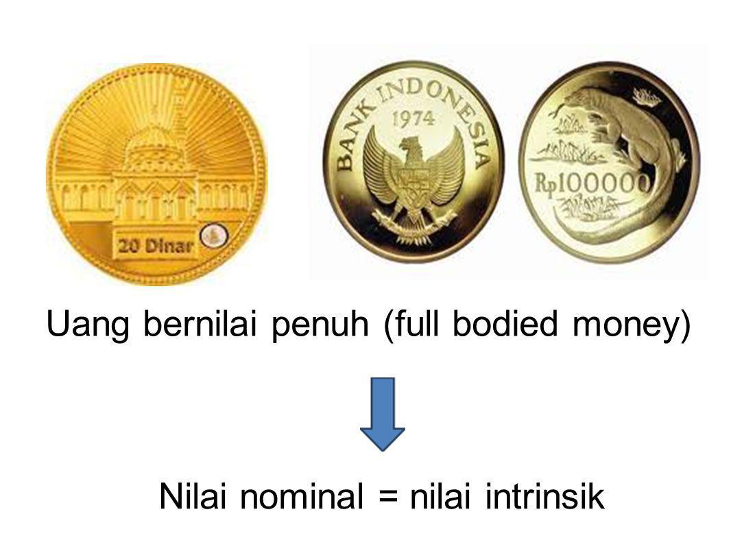 Uang tanda (token money)