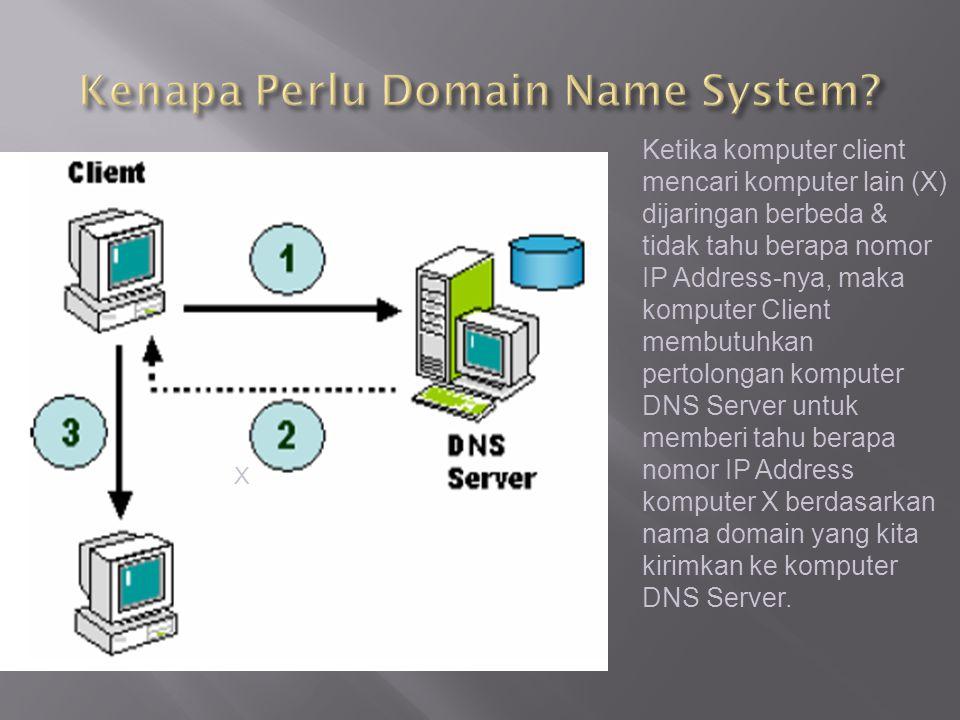 Kenapa Perlu Domain Name System