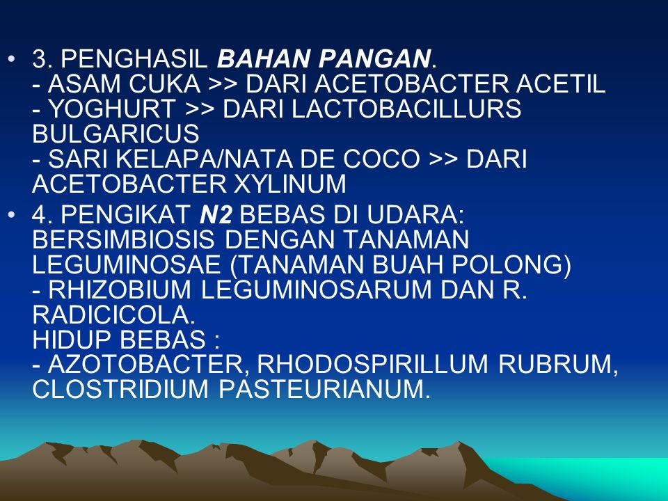 3. PENGHASIL BAHAN PANGAN