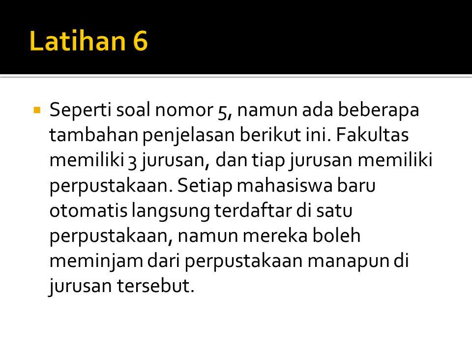 Latihan 6