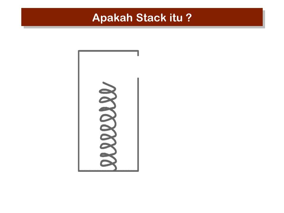 Apakah Stack itu