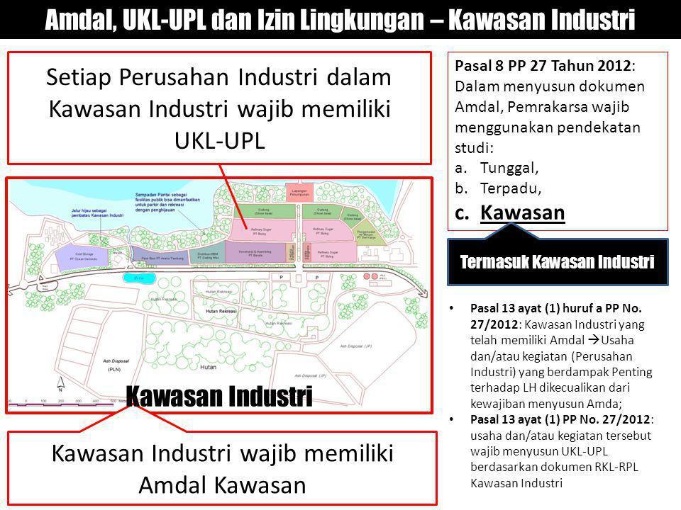 Amdal, UKL-UPL dan Izin Lingkungan – Kawasan Industri
