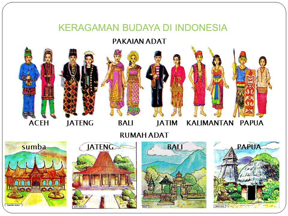 KERAGAMAN BUDAYA DI INDONESIA