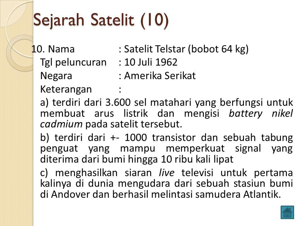 Sejarah Satelit (10)