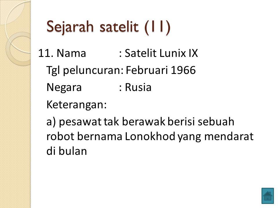 Sejarah satelit (11)