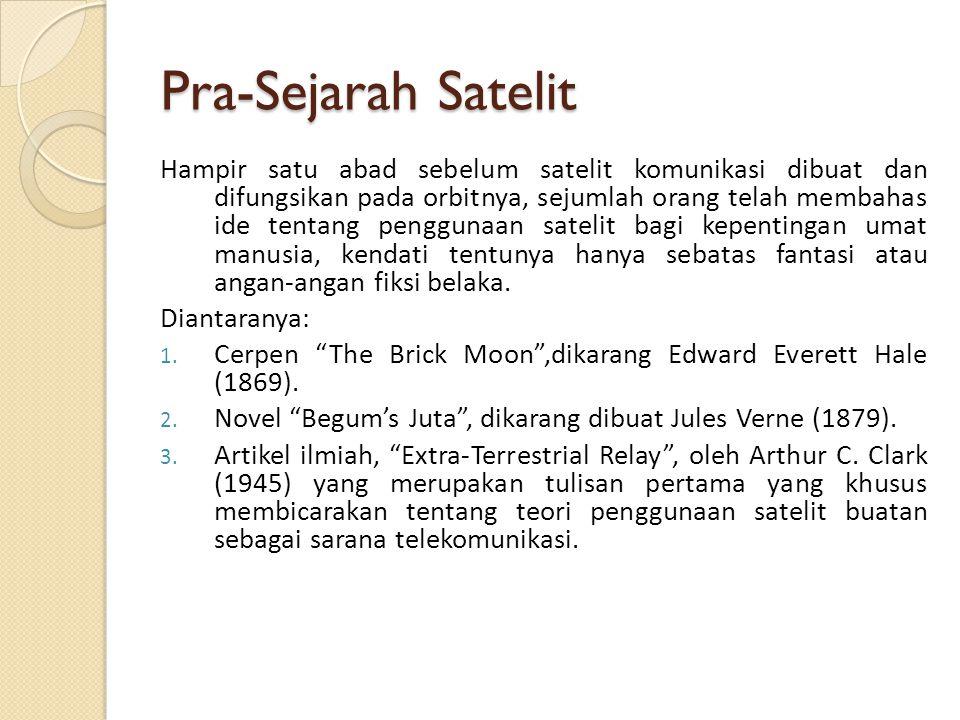 Pra-Sejarah Satelit