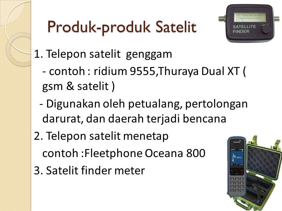 Produk-produk Satelit
